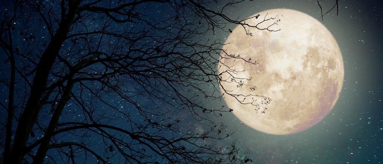 Meditation zum Einschlafen: Traumreise zum Mond
